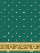 Atik Ali Paşa Yeşil Saflı Cami Halısı