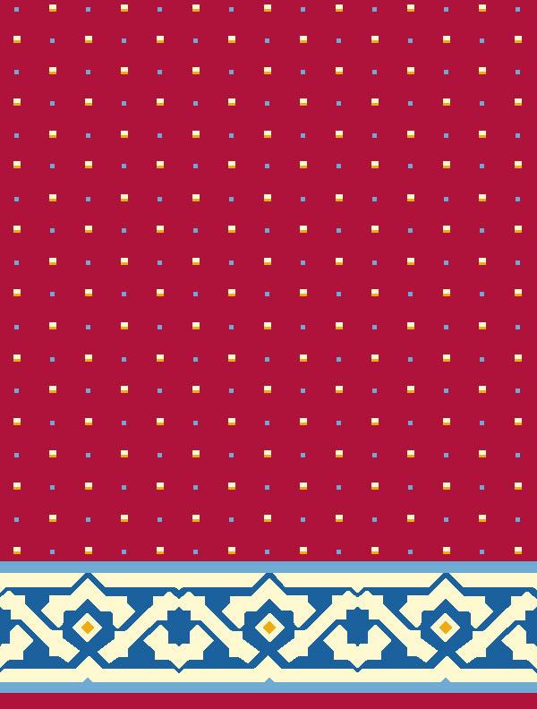Ayasofya Kırmızı Saflı Cami Halısı