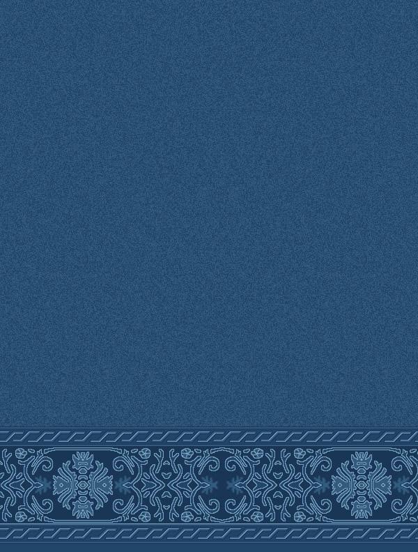 Behram Paşa Antik Mavi Saflı Cami Halısı