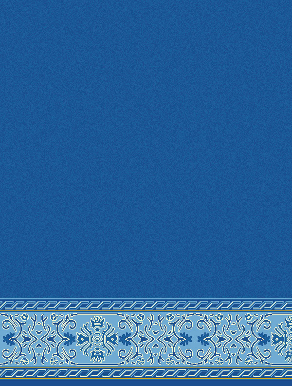 Behram Paşa Mavi Saflı Cami Halısı