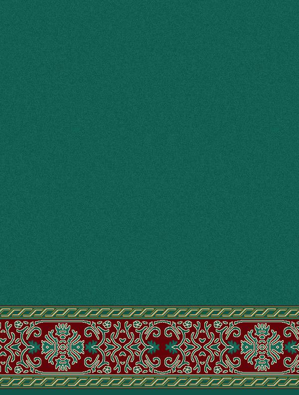 Behram Paşa Yeşil Saflı Cami Halısı