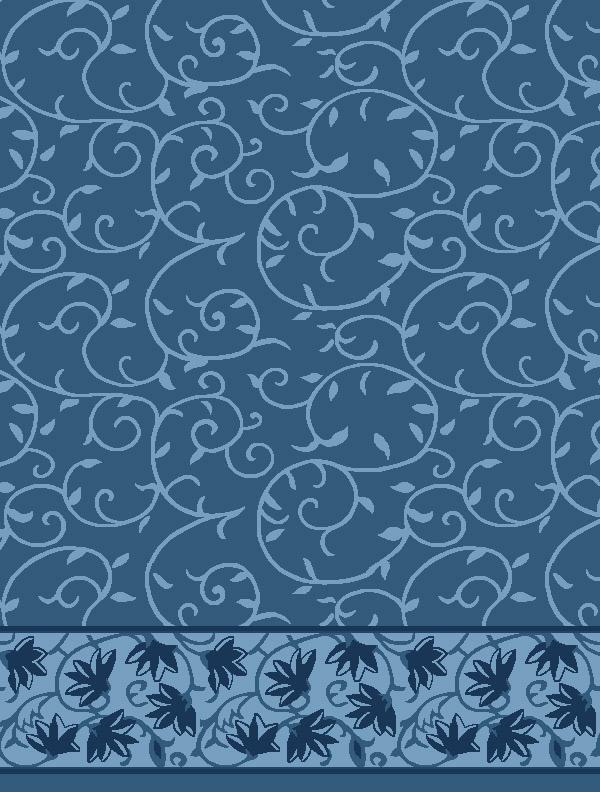 Ceylani Antik Mavi Saflı Cami Halısı