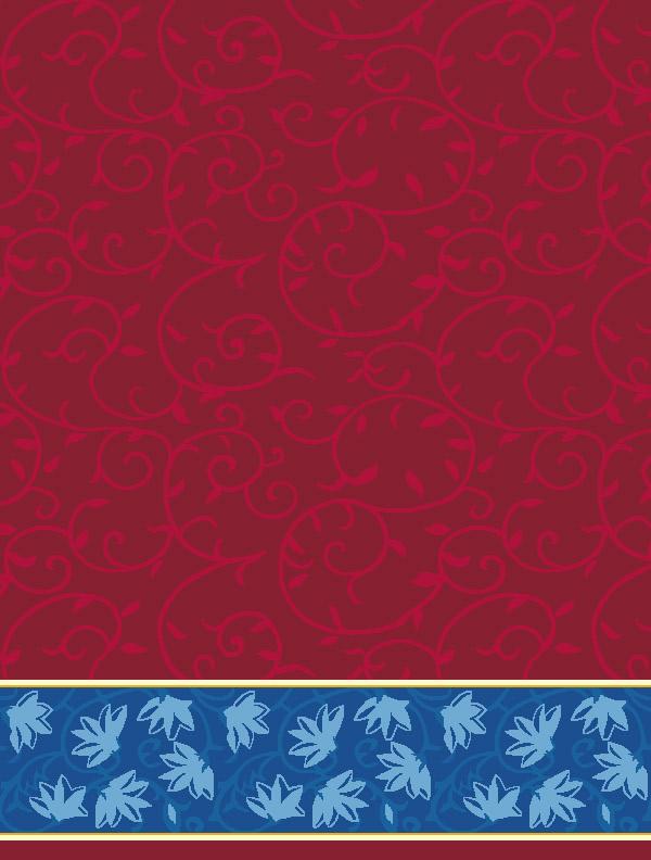 Ceylani Koyu Kırmızı Saflı Cami Halısı