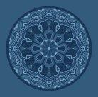 Hacı Hüsrev Antik Mavi Göbekli Cami Halısı