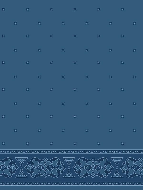 Darülhadis Antik Mavi Saflı Cami Halısı