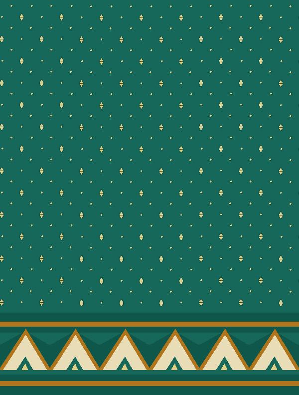 Emir Sultan Yeşil Saflı Cami Halısı