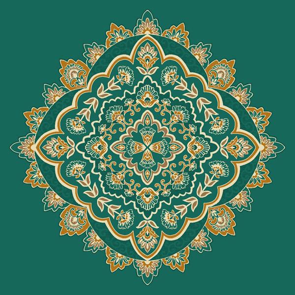 Nuru Osmaniye Yeşil Göbekli Cami Halısı