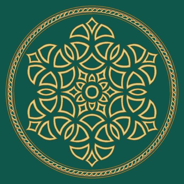 Şah Sultan Yeşil Göbekli Cami Halısı