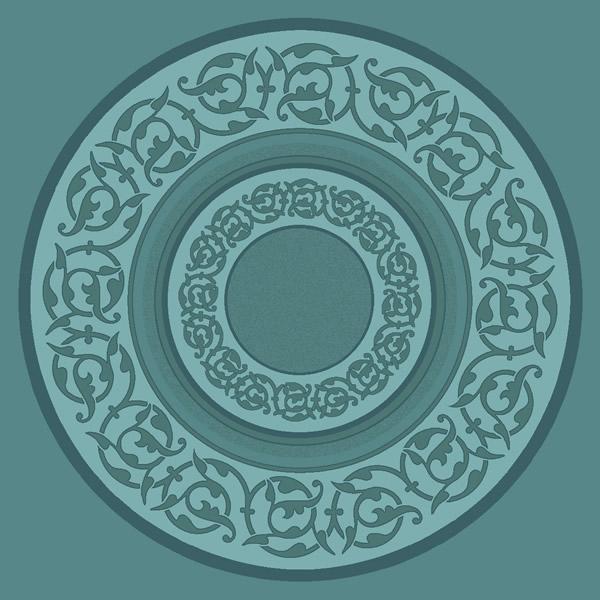 Süleymaniye Antik Yeşil Göbekli Cami Halısı