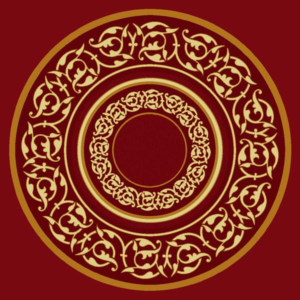 Süleymaniye Kırmızı Göbekli Cami Halısı