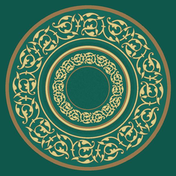 Süleymaniye Yeşil Göbekli Cami Halısı