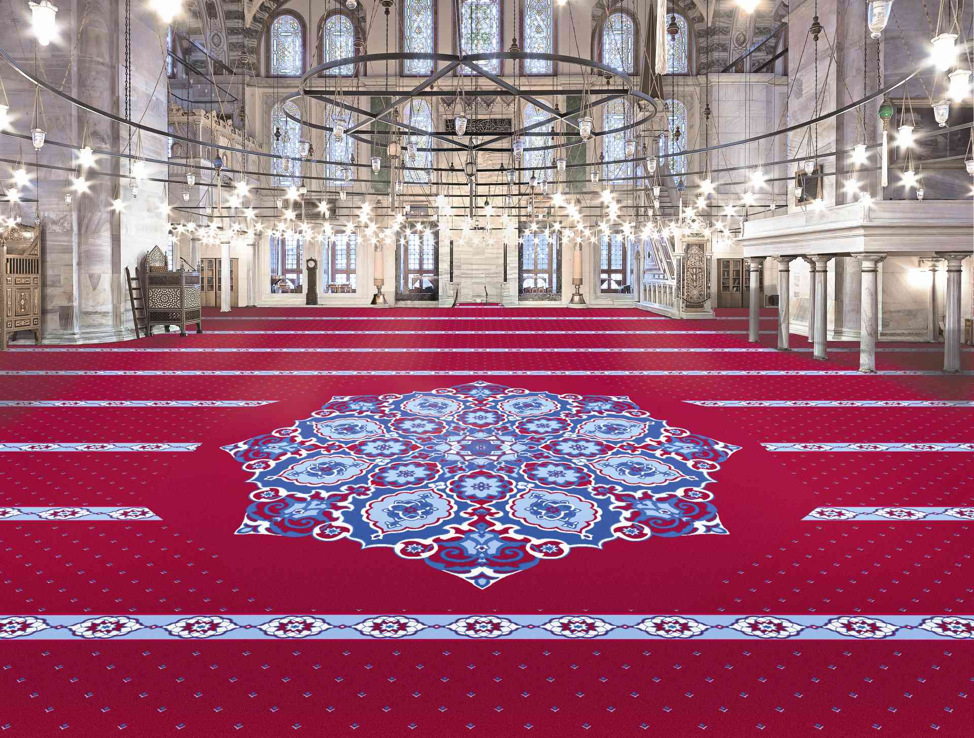 Cami Halısı Çeşitleri cami halisi
